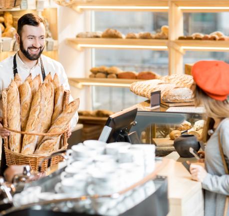 Cliente Habituée d'une Boulangerie et Porteuse de la Cagnotte Dégressive